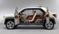 Ford Concept Car with Biobased materials