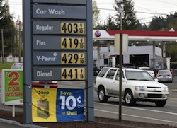 Gas Prices in Soux City Photo Credit AP