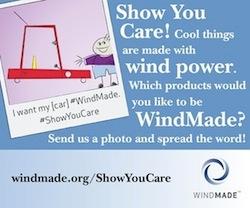 WindMade product label