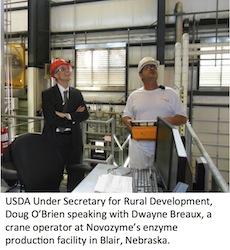 USDA 9-12-13 034--Doug O'Brien, Dwayne Breaux (crane operator)