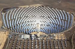 Abengoa solar thermal plant