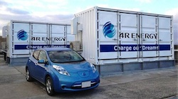 4R Energy Used EV Battery Storage project
