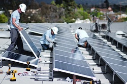clean solar LA first project