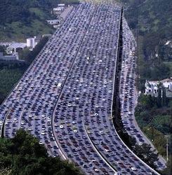 traffic-jam in U.S