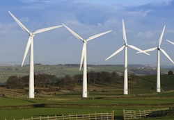 wind farm in the UK