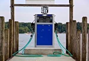 marina gas pump