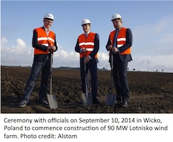 90 MW Lotnisko wind farm in Poland