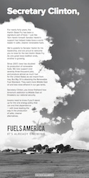 Fuels America Harkin-Clinton Ad