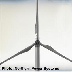 Northern Power Direct Drive Distributed Wind Turbine