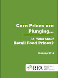 RFA Corn Prices are plunging