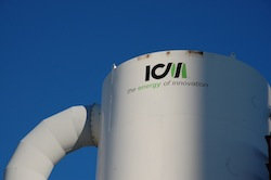ICM tank at Patriot Renewable Fuels Biorefinery