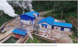 Ulumbu geothermal power plant