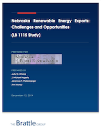 Nebraska Renewable Energy Exports Report