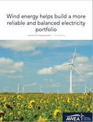 AWEA Wind Energy Reliability Report Cover