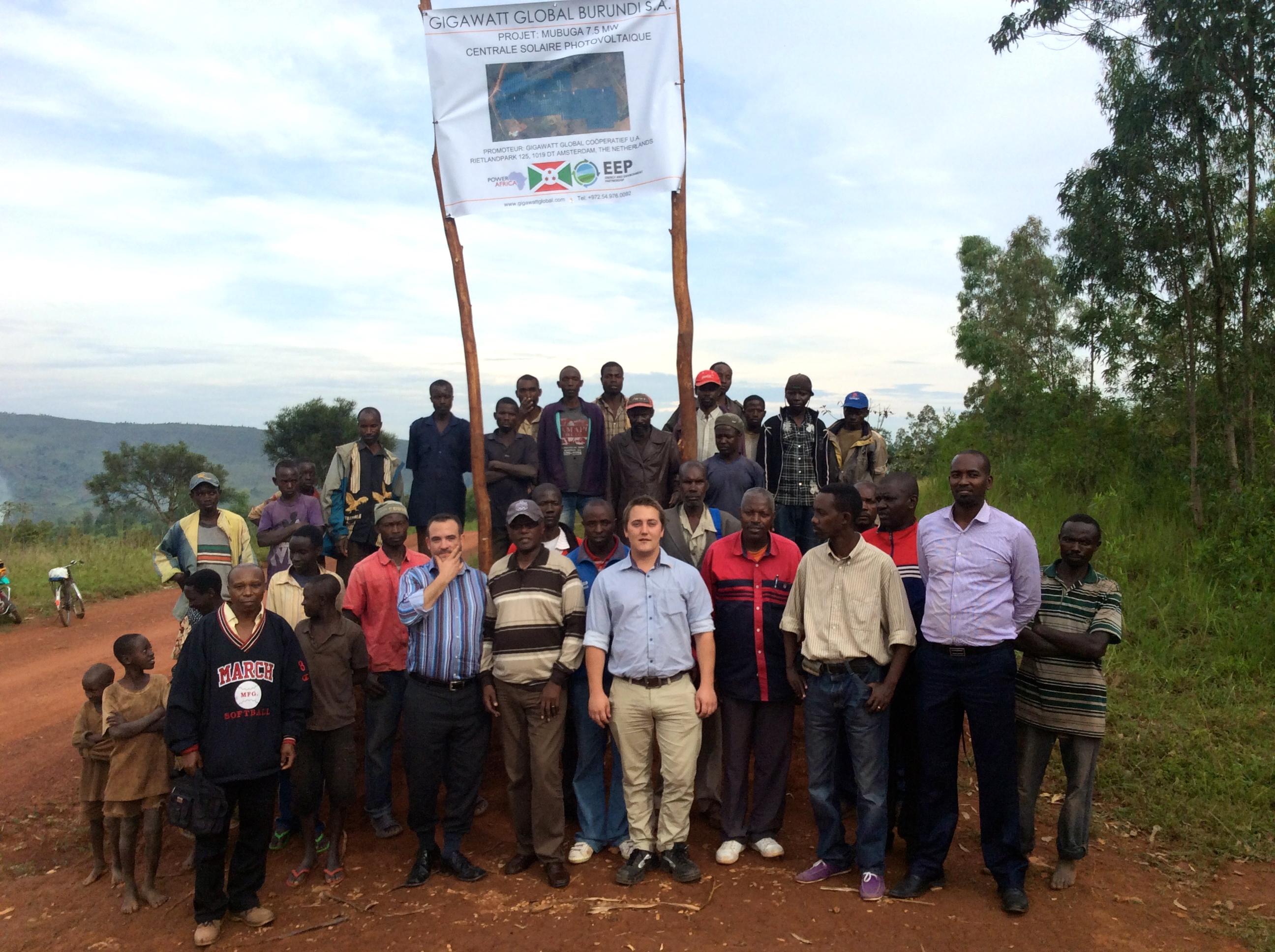 GigaWatt Global Solar project in Burundi