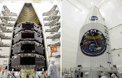 SolAero Solor Panels on MMS spacecraft
