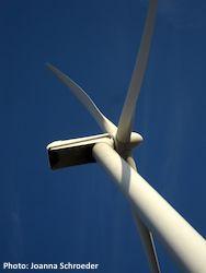 Wind Turbine in Northern Iowa