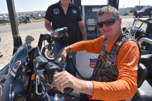 Sturgis Attendee from Hungary