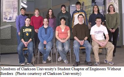 Clarkson Engineers Without Borders