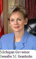 Michigan Governor Jennifer M. Granholm