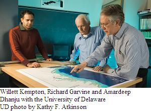 University of Delaware wind researchers