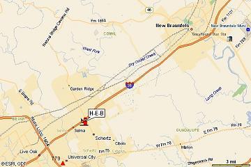 E85 Map
