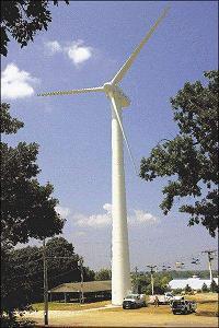 Iowa State Fair wind turbine