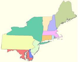 northeast-region-map