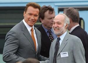 Governor Schwarzenegger UCD visit