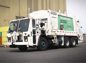 New York City Is Going To Get A Little Cleaner Thanks Clean Running Garbage Truck