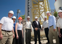 Commission of Verenium's first cellulosic ethanol demonstration facility in Jennings, LA