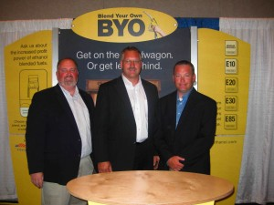 From left to right: Ron Lamberty, ACE; Darrin Ihnen, NCGA; and Robert White, RFA