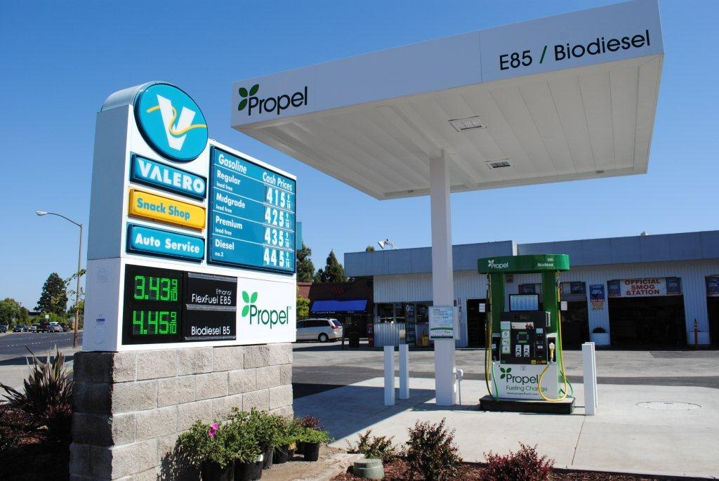 New E85 Station Opens In Redwood City Ca Energy