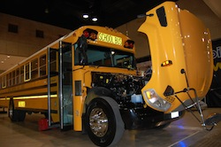 BlueBird Propane Fueled School Bus
