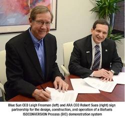 ARA and Blue Sun Partnership