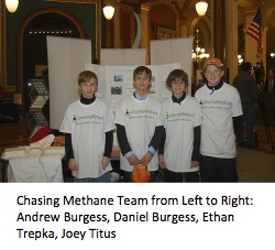 Chasing Methane TeamDF