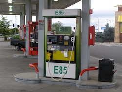 Ethanol E85 pump