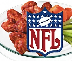 chicken wings and superbowl: Photography by: doc+furious_ graphix