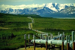 Oil Pipeline in Alaska