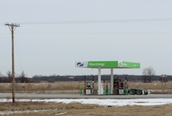 CNG Station in Fair Oaks Indiana