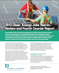 E2 Fourth Quarter Job Report