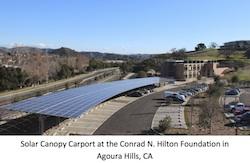 Hilton Foundation CarPort