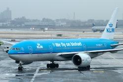 KLM Biofuel Flight from JFK