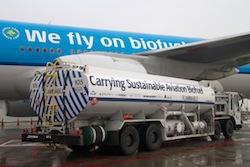 KLM biofuel flight