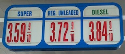 gas prices march 2013