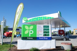Propel - Fresno Price Sign