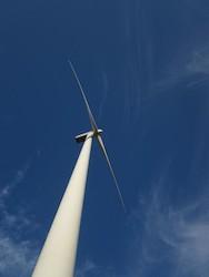 Wind Turbine in Iowa Photo Joanna Schroeder