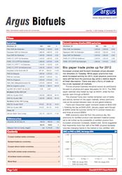 Argus Biofuels Report