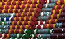 Barrels of Oil Photo-Kay Nietfeld:Corbis