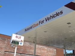 CNG Station in PA Photo: Scott Detrow / StateImpact Pennsylvania